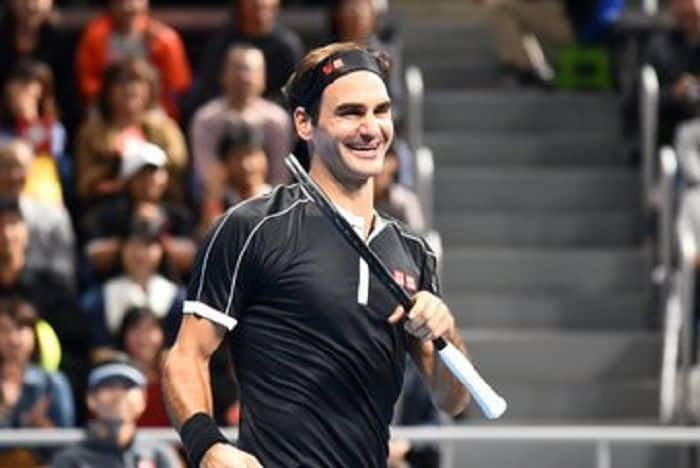 Roger Federer Celebrates Match No. 1500 With a Win