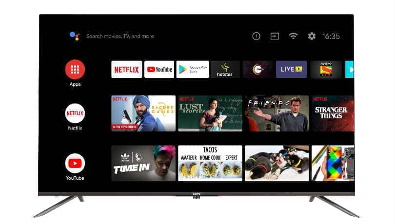 Panasonic launches 3 new Sanyo Kaizen 4K Android TVs in India, price starts at Rs 29,999