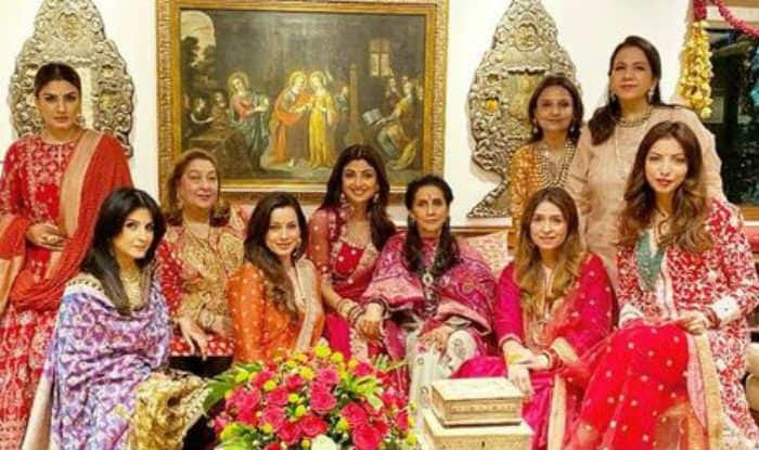 Shilpa Shetty, Raveena Tandon and others celebrate Karva Chauth