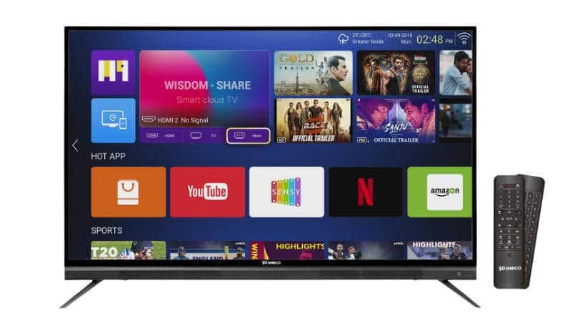 Amazon Great Indian sale: Shinco's 4K UHD smart TV will be available for Rs 5,555
