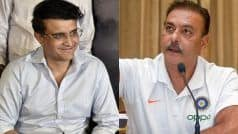 There Shouldn't Be A Need For Re-Appointment Of Ravi Shastri As The Head Coach: Sourav Ganguly