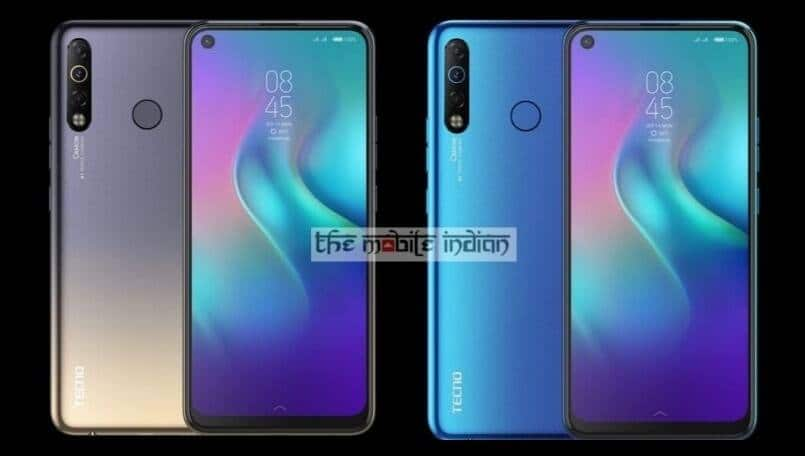 Tecno Camon 12 Air with punch hole front camera to launch on October 11