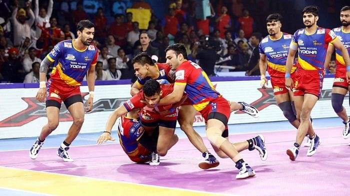 Dream11 Team HYD vs UP Pro Kabaddi League 2019 – Kabaddi Prediction Tips For Today's PKL Match 129 Telugu Titans vs UP Yoddha at Shaheed Vijay Singh Pathik Sports Complex in Greater Noida