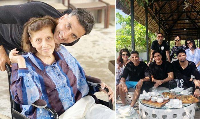 Twinkle Khanna, Akshay Kumar Celebrate Grandmother Betty Kapadia's 80th Birthday