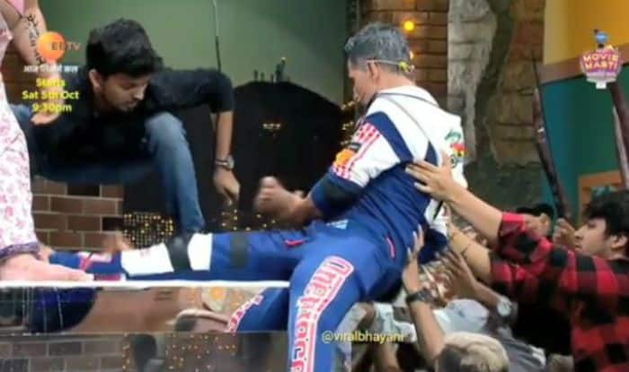 Akshay Kumar Jumps to Save an Artist Who Fell Unconscious on Harness – Watch