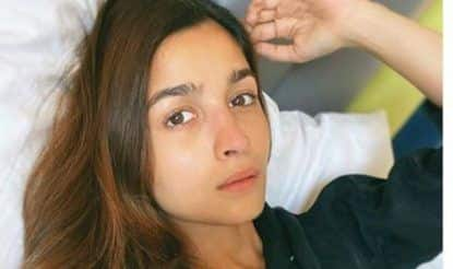 Alia Bhatt Shares Make-up Free Selfie in Bed From Mysore And We Are Just Loving it