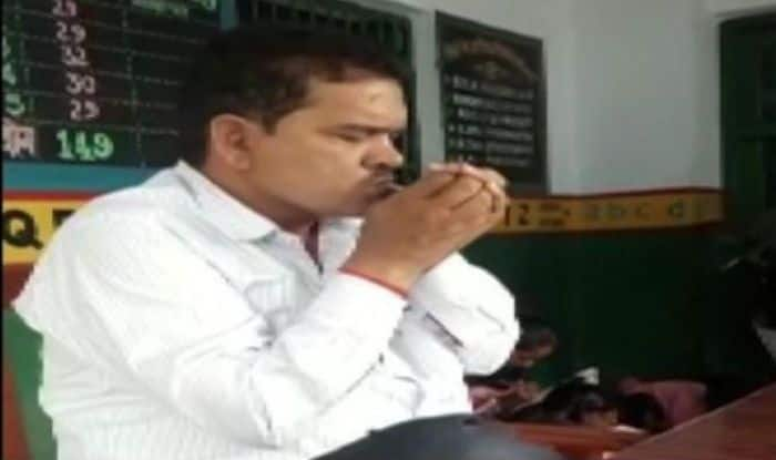 Uttar Pradesh Teacher Suspended After Video of Him Smoking in Class Goes Viral- Watch