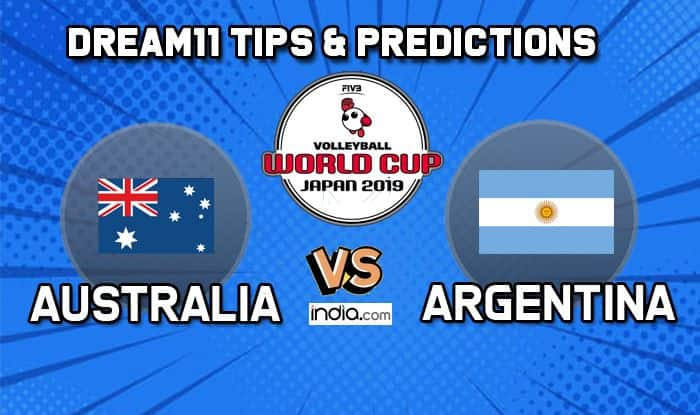 dream11 australia vs argentina volleyball