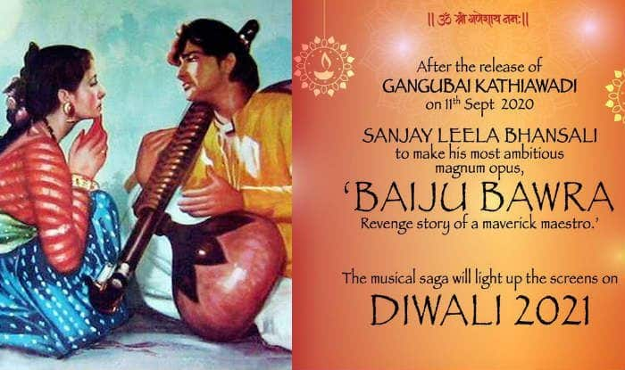 Sanjay Leela Bhansali's Baiju Bawra to Have Over Dozen Songs; More Details Revealed
