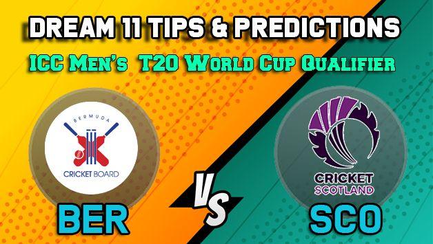 Dream11 Team Prediction Bermuda vs Scotland: Captain and Vice Captain For Today, Match 30 ICC Men's T20 World Cup Qualifier Between BER vs SCO at Dubai 9:00 PM IST October 24 | Cricket News | India.com | India.com Sports