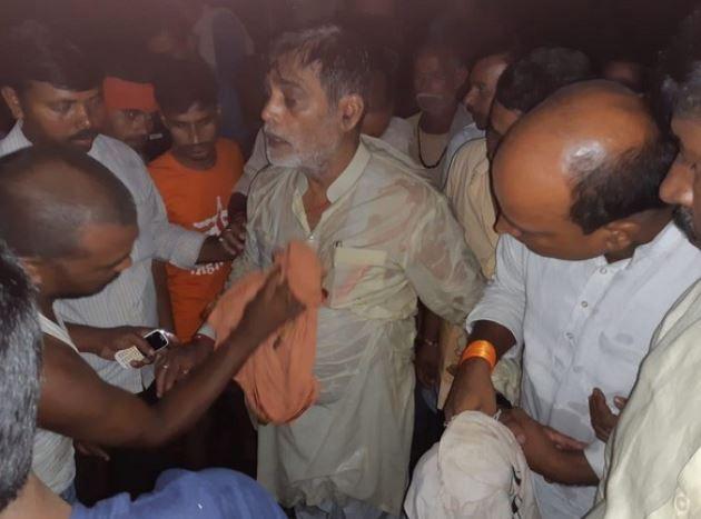 Bihar Floods: BJP MP Ram Kripal Yadav Falls into River As Makeshift Boat Overturns