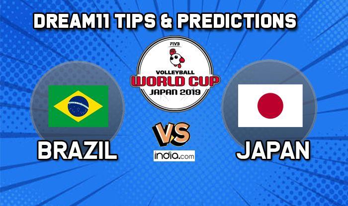 dream11 brazil vs japan volleyball
