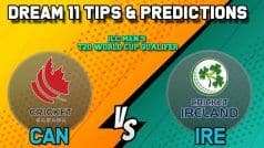 Dream11 Team Prediction Canada vs Ireland: Captain and Vice Captain For Today