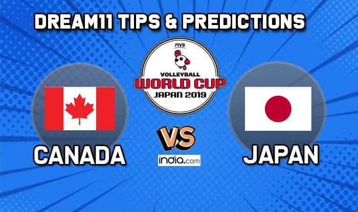 canada vs japan volleyball dream11 2019
