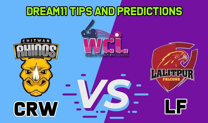 CRW vs LF Dream11 Team Prediction: Captain and Vice Captain For Today Match 5 Women's Champions League T20 2019 Between Chitwan Rhinos Women vs Lalitpur Falcons in Kirtipur at 1:15 PM