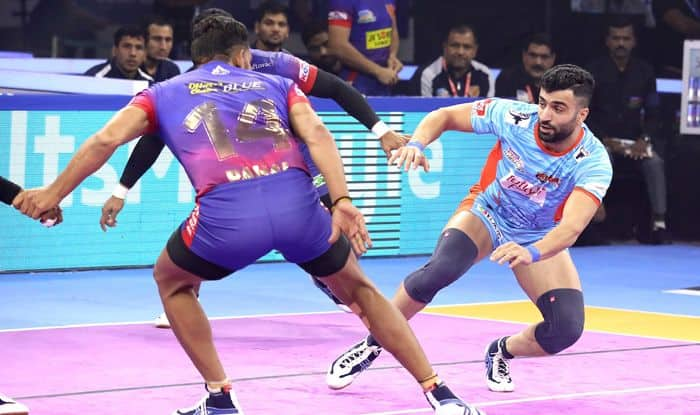 delhi dabang vs bengal warriors pkl 2019
