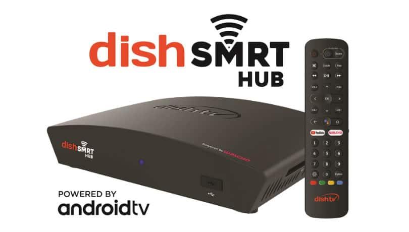 Dish TV launches Dish SMRT Hub Android-powered set-top-box, Dish SMRT Kit With Alexa Dongle