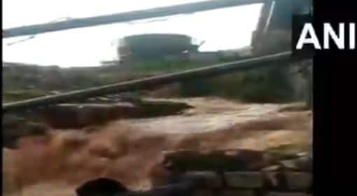 Karnataka Temple Flooded in a Second, Visitors Stranded   Watch Video