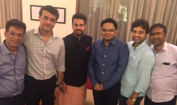 Sourav Ganguly, Sourav Ganguly appointed as BCCI President, BCCI President, Sourav Ganguly Age, Sourav Ganguly Wife, Sourav Ganguly News, Sourav Ganguly Father, Sourav Ganguly Stats, Sourav Ganguly house, Sourav Ganguly BCCI President, Team India, BCCI, Latest Cricket News, Indian Cricket Team, N Srinivasan, Amit Shah, Amit Shah's son Jay Shah, Jay Shah BCCI secretary, Sourav Ganguly picked as BCCI President, Brijesh Patel Cricketer, Brijesh Patel BCCI, Brijesh Patel Young, Brijesh Patel Video, Latest Cricket News