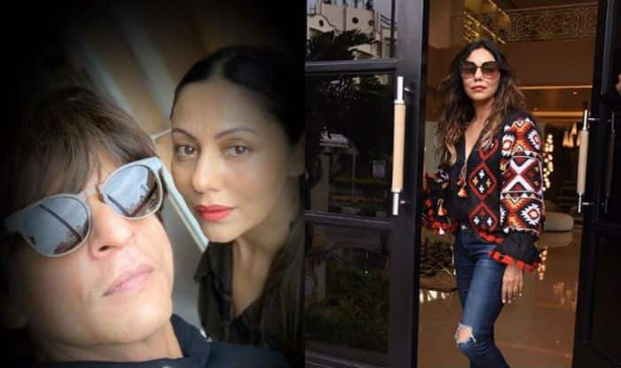 This is How Shah Rukh Khan Celebrated Gauri Khan's 49th Birthday