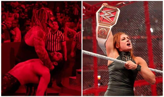 wwe hell in a cell 2019 results, hell in a cell 2018, wwe hell in a cell 2018 results, wwe hell in a cell 2019 matches, wwe hell in a cell 2018 matches, hell in a cell 2017, wwe hell in a cell instances, Seth Rolllins Hell in a cell, Brock Lesnar Hell in a Cell, Bray Wyatt, Hell in a Cell match results