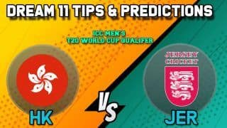 Dream11 Team Prediction Hong Kong vs Jersey: Captain And Vice Captain For Today Match 26, ICC Men's T20 World Cup Qualifier 2019:  Between HK vs JER at Abu Dhabi 9:00 PM IST October 23