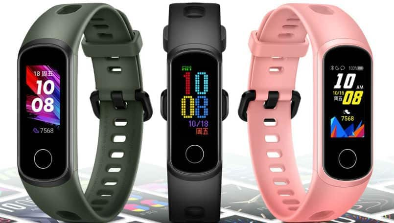 Honor Band 5i fitness activity tracker with built-in USB charging launched in China