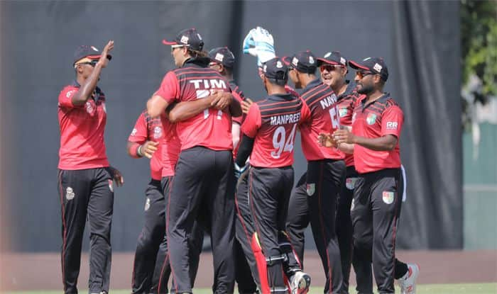 singapore cricket team celebrates icc t20 world cup qualifiers