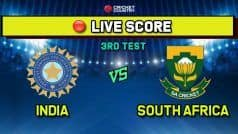 Ind vs SA, 3rd Test, Day 3 Live Score: Dean Elgar Retires Hurt; South Africa in Tatters