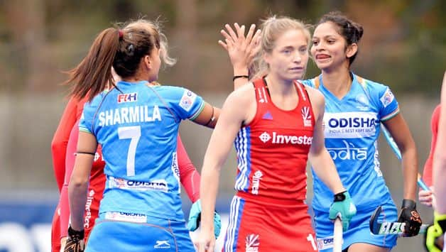 india women hockey team great Britain 2019