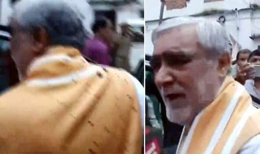 'Ink Thrown at Democracy,' Says Union Minister Ashwini Choubey as Man Targets Him | Watch