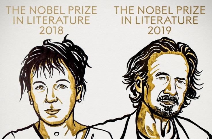 Nobel Prizes in Literature Awarded To Writers Olga Tokarczuk and Peter Handke
