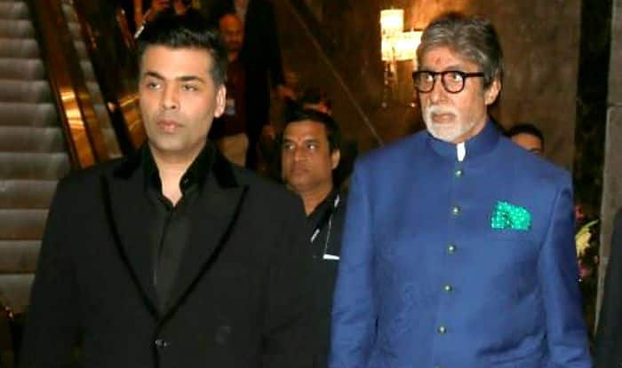 """I Fainted The First Time I Worked With Him,"" Karan Johar's Birthday Wish For Amitabh Bachchan is Too Lovely For Words"