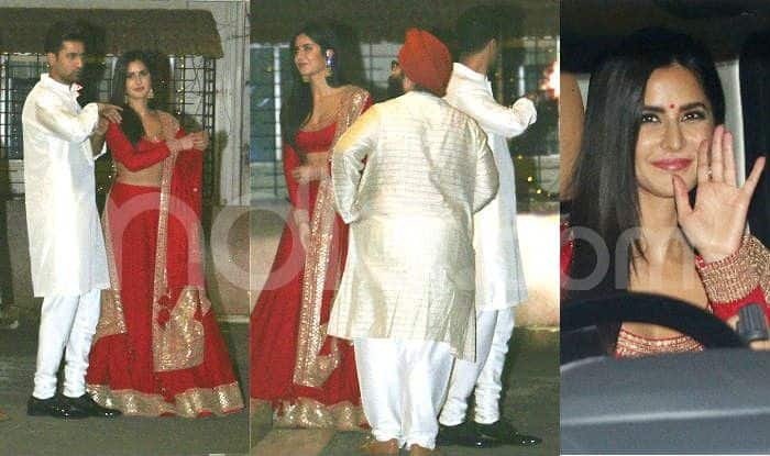 Katrina Kaif And Vicky Kaushal Clicked Together on Diwali Without Other Celebs – Viral Photos