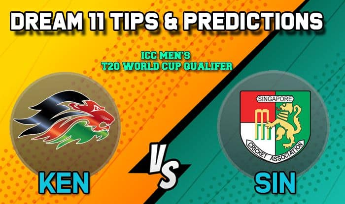 Dream11 Team Prediction Kenya vs Singapore: Captain and Vice Captain For Today Match 24, ICC Men's T20 World Cup Qualifier 2019: Between KEN vs SIN at Dubai 3:40 PM IST October 23 | Cricket News | India.com Sports | India.com