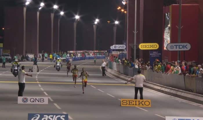 marathon iaaf world athletics championships photo