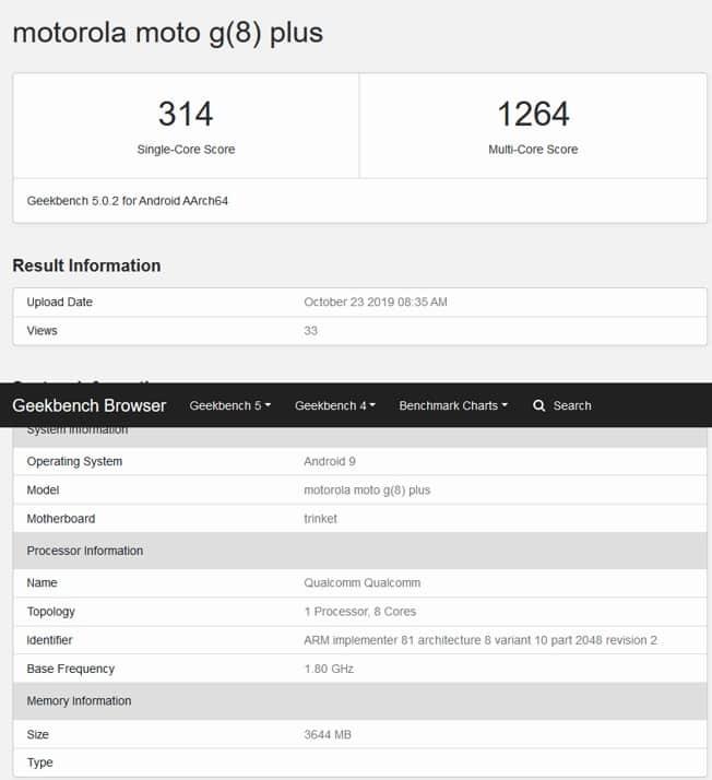 Moto G8 Plus leak reveals key details ahead of official launch today