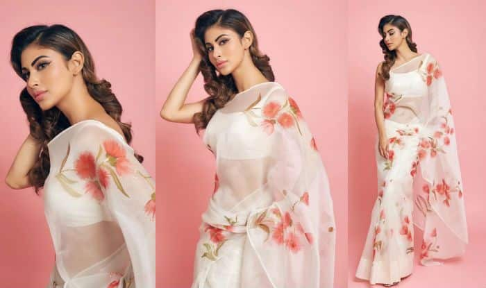 Mouni Roy's Sheer White Saree Look in Latest Instagram Pictures is a Hit – Check Viral Photos