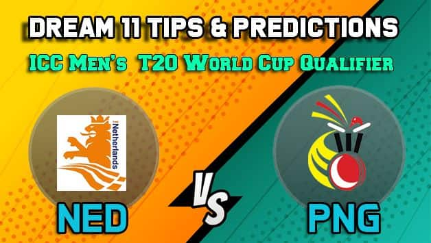Dream11 Team Prediction Netherlands vs Papua New Guinea: Captain and Vice Captain For Today Match 27, ICC Men's T20 World Cup Qualifier: Between NED vs PNG at Dubai 11:30 AM IST October 23