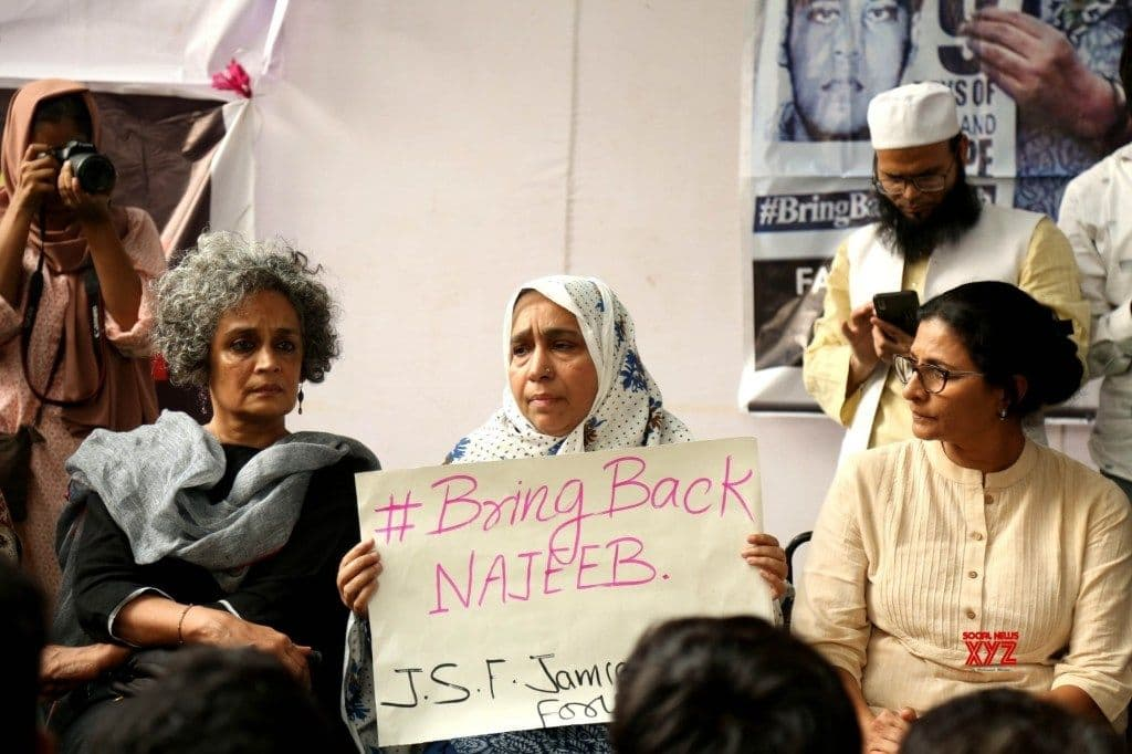 'A Mother Will Win': 3 Years On, Najeeb's Mother Awaits Justice As She Protests at Jantar Mantar