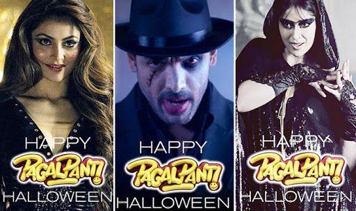 Pagalpanti stars wish fans a Happy Halloween