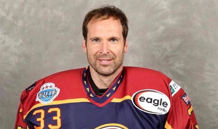 petr cech ice hockey photo