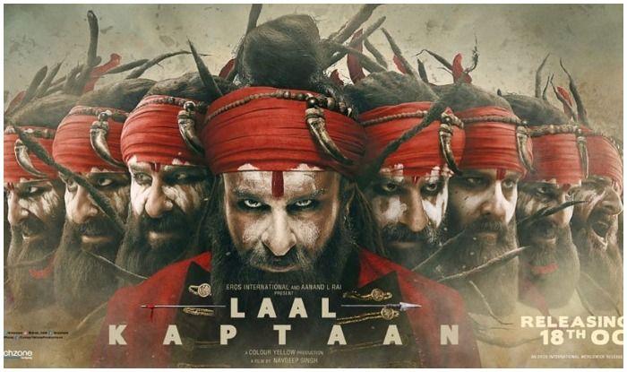 Laal Kaptaan's Dussehra poster features Saif Ali Khan's Naga Sadhu as a Raavan