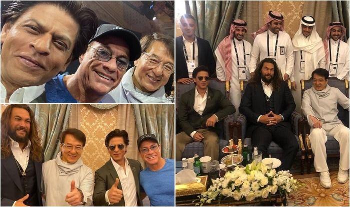 Shah Rukh Khan shares frame with Jackie Chan, Jean-Claude Van Damme and 'Aquaman' Jason Momoa