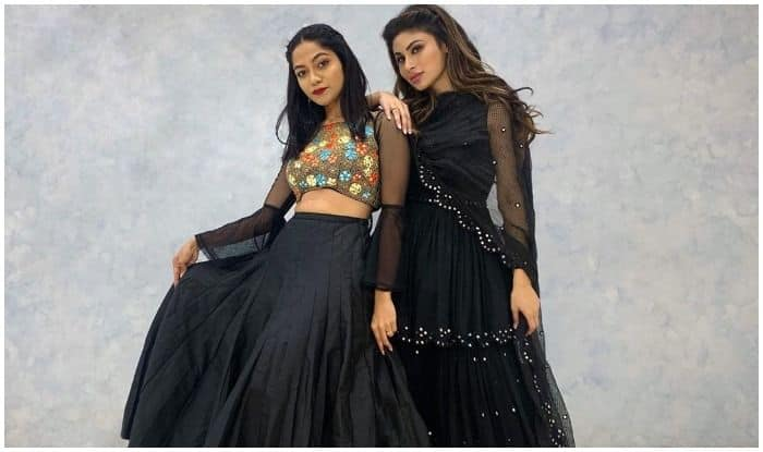 Made In China star Mouni Roy with choreographer and YouTuber Sonali Bhadauria