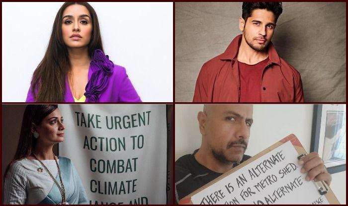 Shraddha Kapoor, Sidharth Malhotra, Dia Mirza, Vishal Dadlani and other celebrities raise voice against felling of Aarey Forest