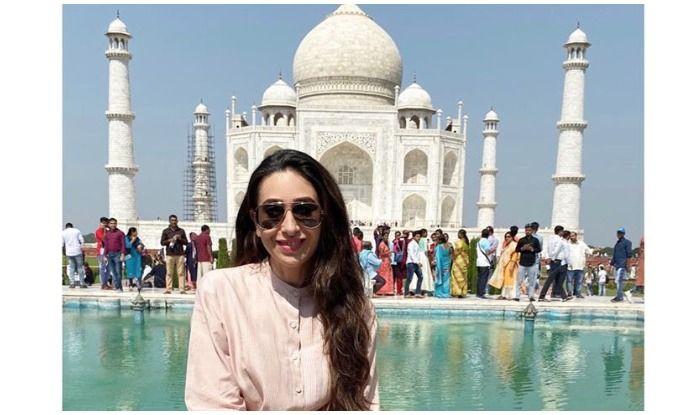 Karisma Kapoor visits Taj Mahal for the first time