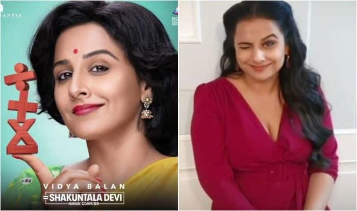 Vidya Balan as Shakuntala Devi - Human Computer