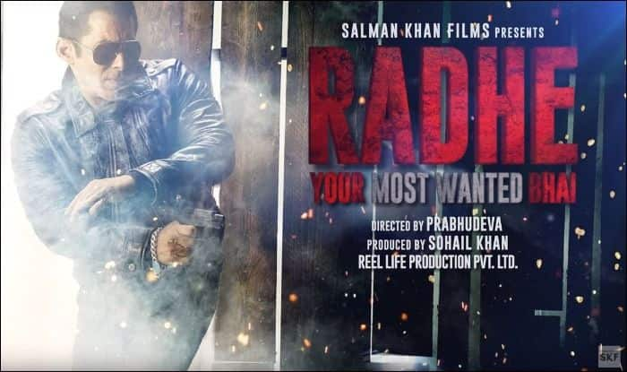 Salman Khan drops first look of Eid 2020 release, Radhe: Your Most Wanted Bhai
