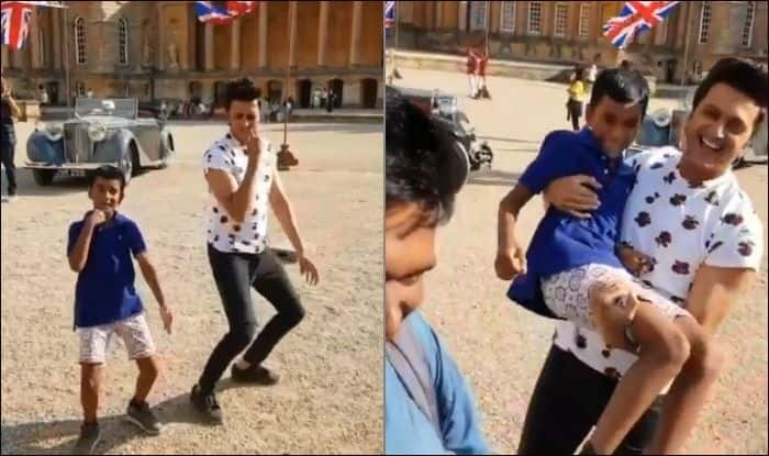 Riteish Deshmukh learns 'correct' step of Ek Chumma from a little boy in London